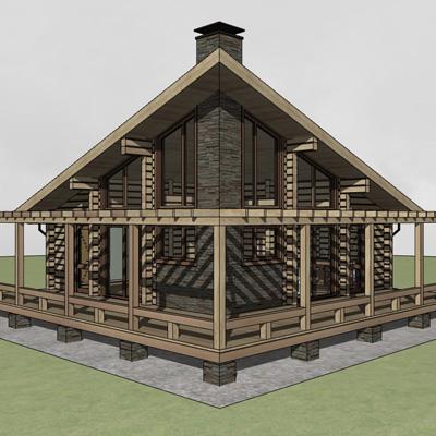 Проект банного комплекса «Байкал»