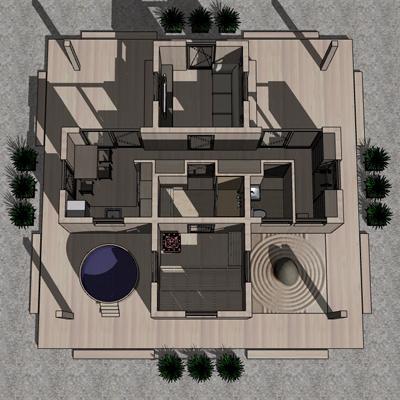 Проект банного комплекса «Синдэн»