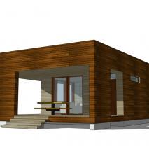 сибирская-баня.рф: Проект сауны ECS-2. Архитектор: Дмитрий Антонов. Новосибирск