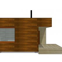 сибирская-баня.рф: Проект сауны EES-1. Архитектор: Дмитрий Антонов. Новосибирск