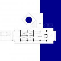 Проект банного комплекса «Ангара». План комплекса. Вариант 2. Архитектор: Сергей Косинов. Новосибирск. 2015 г.
