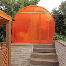 сибирская-баня.рф: Баня с террасой. Архитектор: Сергей Косинов. Новосибирск